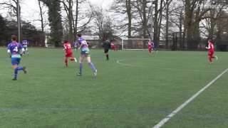Joey goal vs Bisley AS