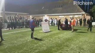 PFA Cup Trophy Presentation