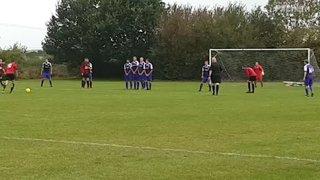 Aaron Yeoman free kick vs Rippingale 22/09/18