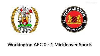 Workington AFC v. Mickleover Sports - Tue 02 April 2019