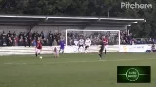 Harvey Rivers' superb save against Hereford