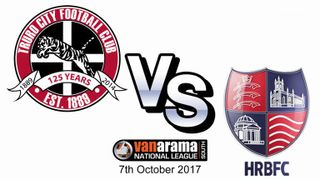 Truro City FC v Hampton and Richmond Borough FC - 7th October 2017