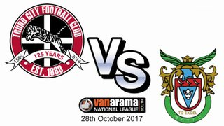 Truro City FC v Bognar Regis Town FC - 28th October 2017