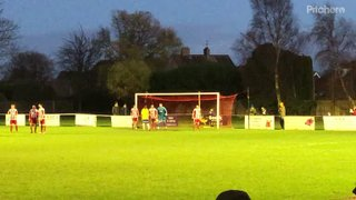Frankie Merrifield scores for Canvey Island