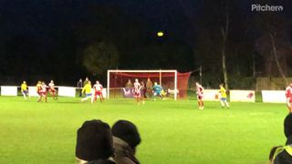 Martin Tuohy scores for Canvey Island