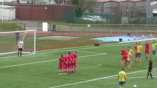 Cotterill nets free-kick winner against Cambrian