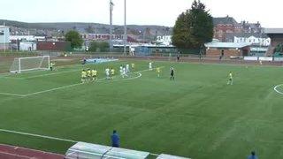 Cooper scores against Goytre United