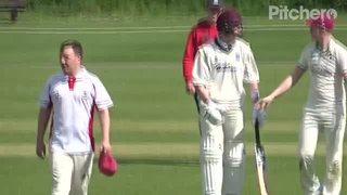 Benedict Harvey 101 Not Out for Geddington Sunday XI V Rushden Wanderers Sunday XI (Home) 12th May 2019.