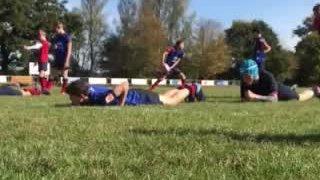 U15s skills training
