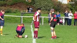 U16's vs Wath....demolition but still the same commentary.....legs!