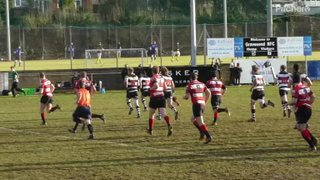 Gs pile on pressure = Temi try 2 (1st XV v Maidstone 28.01.17)