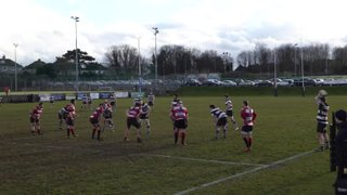 Catch him if you can...(but you can't!!) #hattrick #Temi (1st XV v Maidstone 28.01.17)