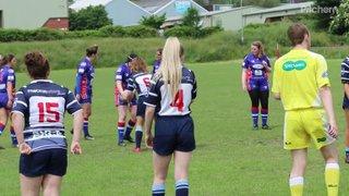 West Leeds Girls U14s vs Featherstone Lionesses - 9 June 2018