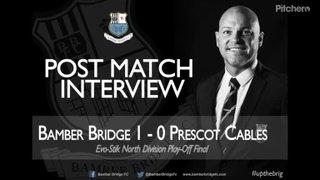 Neil Reynolds Post Match Interview 05018