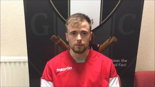24-4-2018 - Grantham Town v Warrington - post match interview with Lee Shaw