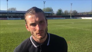 5-5-2018 - Ashton United v Grantham Town - post match with Stefan Galinski