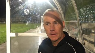 21-8-2018 - Stafford Rangers v Grantham Town - post match interview with Ian Culverhouse