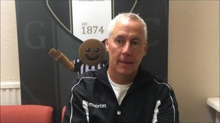 4-9-2018 - Grantham Town V Mickleover Sports - post match interview with Ian Culverhouse