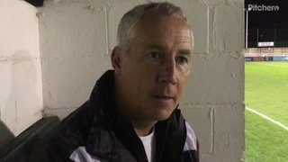 11-9-2018 - North Ferriby United v Grantham Town - post match interview with Ian Culverhouse
