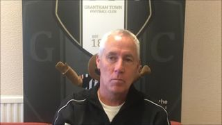 16-9-2018 - Grantham Town v Hyde United - Post Match interview with Ian Culverhouse