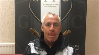 18-9-2018 - Grantham Town v Glossop North End - post match interview with Ian Culverhouse