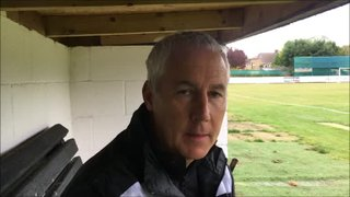 22-9-2018 - St Ives Town v Grantham Town - Post Match Interview With Ian Culverhouse