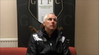 25-9-2018 - Grantham Town v St Ives Town - Post Match interview with Ian Culverhouse