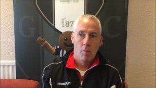 29-9-2018 - Grantham Town v Whitby Town - Post match interview with Grantham Town Manager Ian Culverhouse