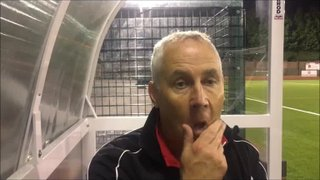 9-10-2018 - Buxton v Grantham Town - Post match interview with Ian Culverhouse