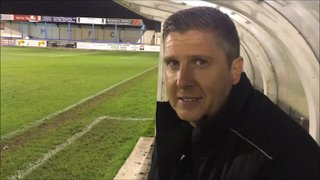 23-10-2018 - Matlock Town v Grantham Town - post match interview with Richard Thomas