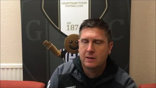 27-10-2018 - Grantham Town v Halesowen Town - Post match interview with Richard Thomas