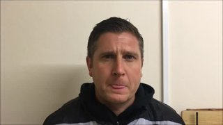 17-11-2018 - Workington v Grantham Town - post match interview with Grantham Town Manager Richard Thomas