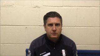 12-1-2019 - Farsley Celtic v Grantham Town - Post match interview with Grantham Town Manager Richard Thomas
