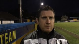 26-1-2019 - Warrington Town v Grantham Town - Post match interview with Grantham Town Manager Richard Thomas