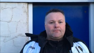 16-2-2019 - Whitby Town v Grantham Town - Post match interview with Grantham Town Manager Paul Rawden