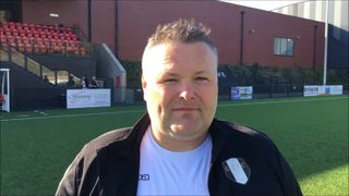 20-4-2019 - Scarborough Athletic v Grantham Town - Post match interview with Grantham Town Joint Manager Paul Rawden