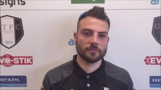 20-4-2019 - Grantham Town v Gainsborough Trinity - Post match interview with Captain Tom Ward