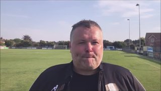 Barton Town v Grantham Town - Post match interview