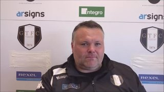 Grantham Town v Whitby Town - Post Match Interview