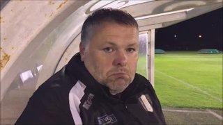 Matlock Town v Grantham Town post match interview
