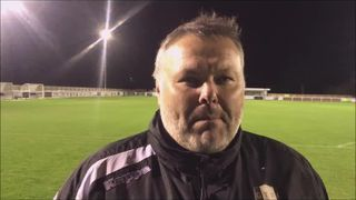 Cleethorpes Town v Grantham Town post match interview with Paul Ravden