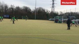 45:00 - Goal - Crawley Hawks (A)